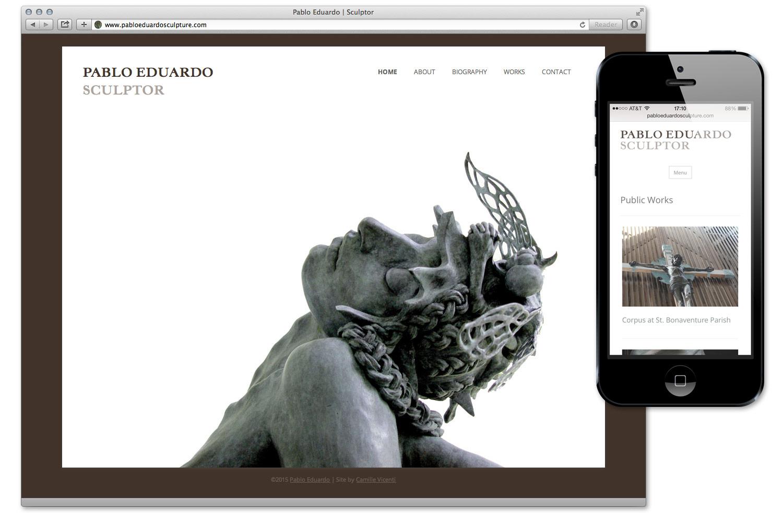 Pablo Eduardo - Responsive Website