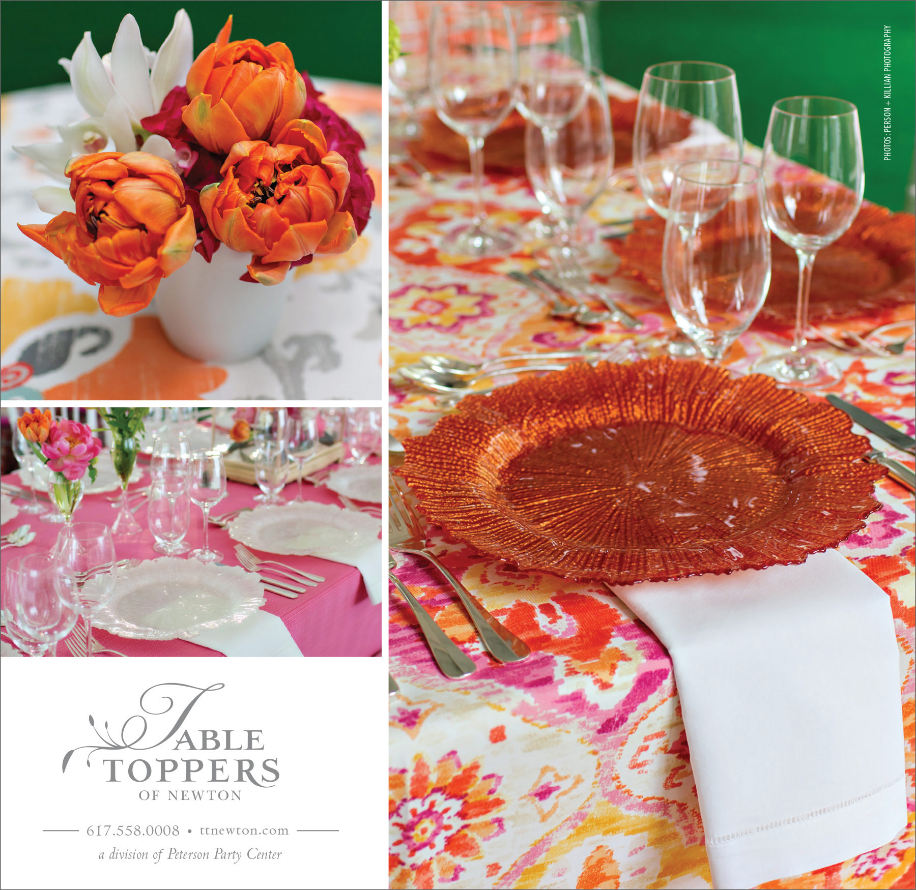 Table Toppers - Well Wed Ad