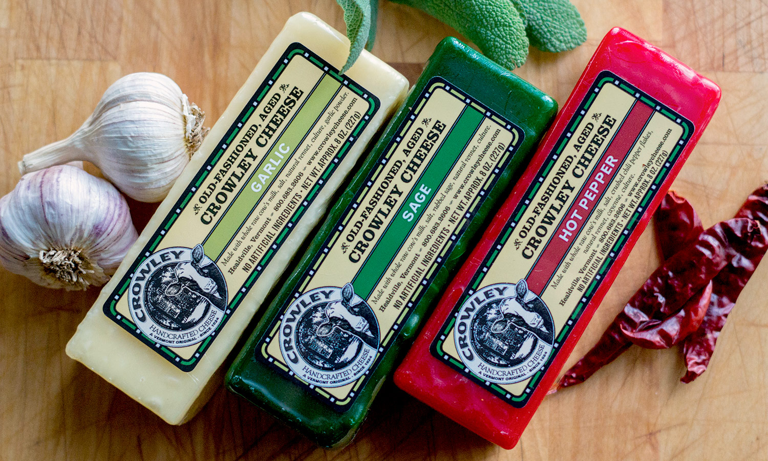 Crowley Cheese Labels