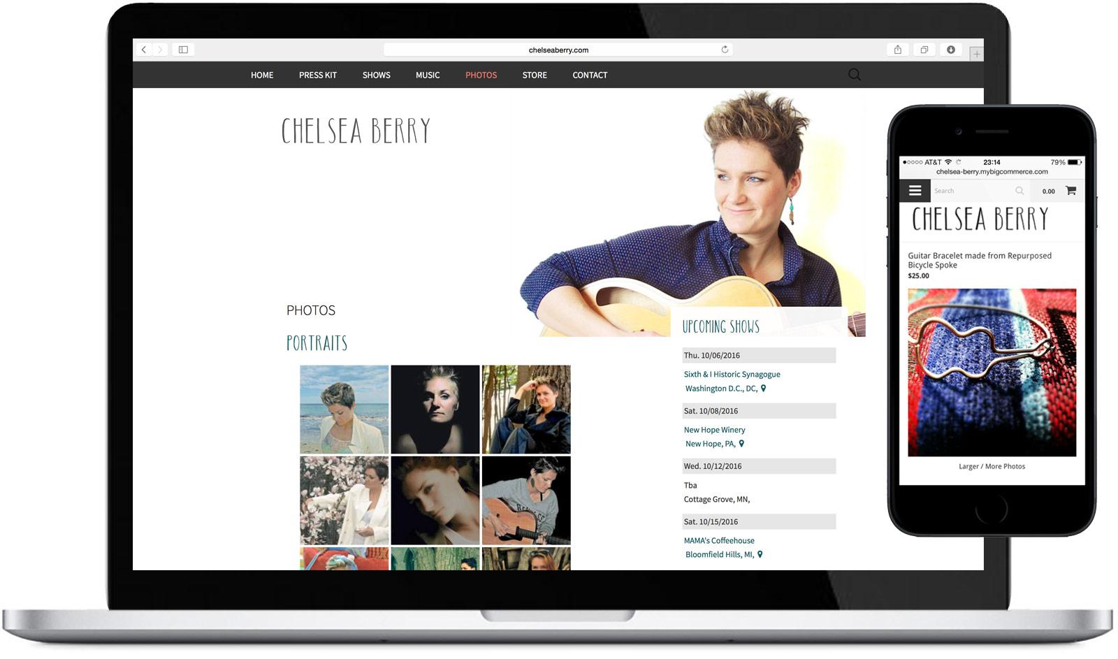Chelsea Berry - Website