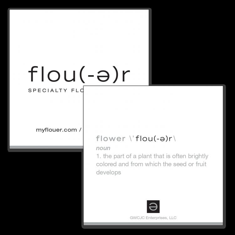Flou(-e)r Business Card