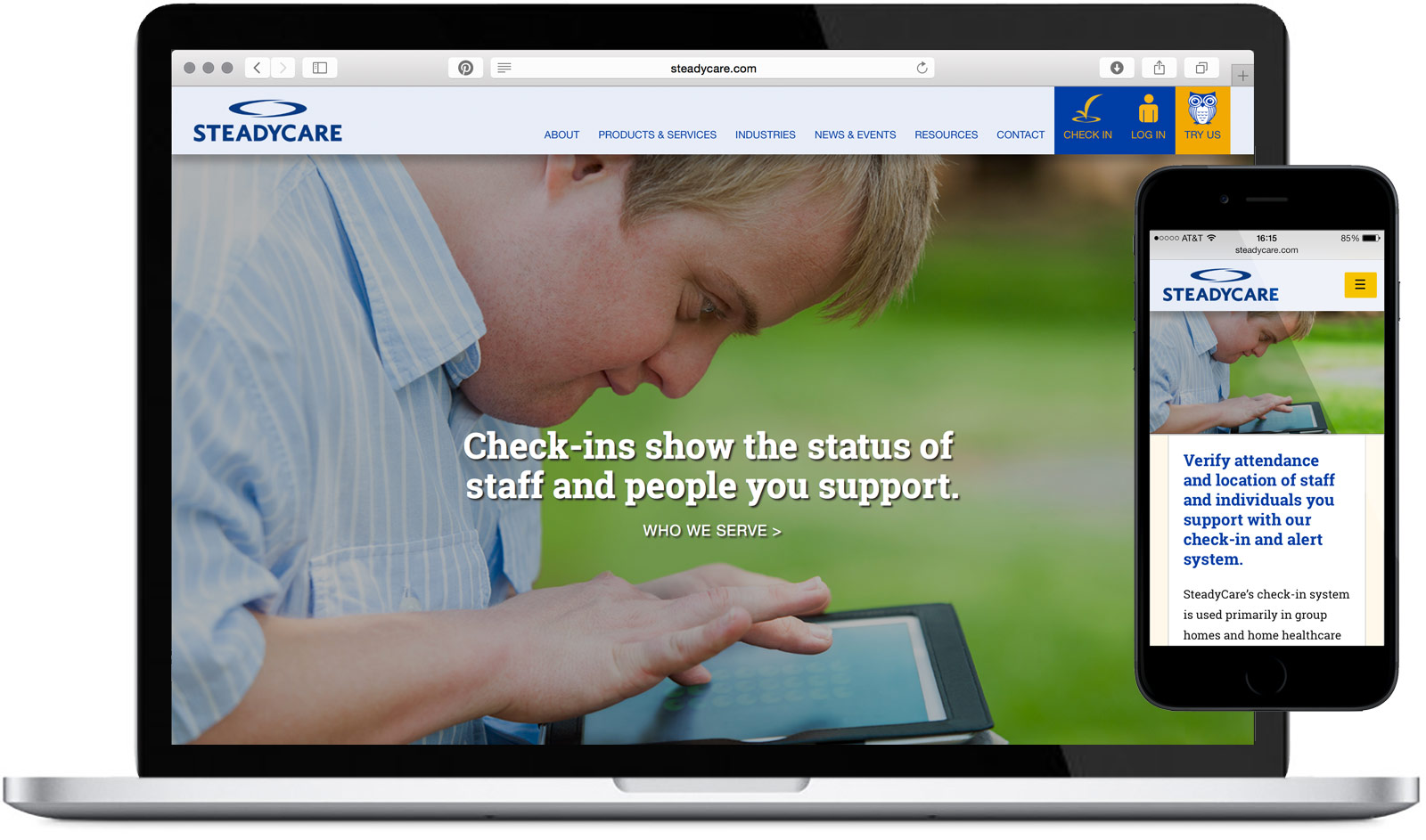 SteadyCare Website